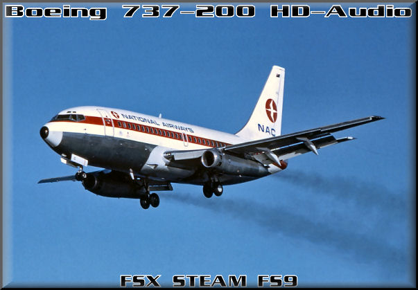 Boeing 737-200 HD-Audio, Skysong Soundworks