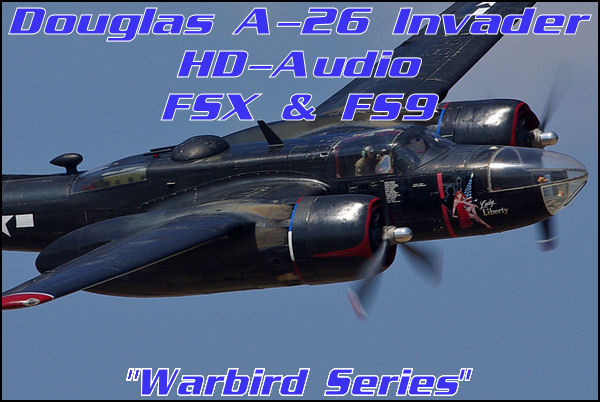 Douglas A-26 Invader HD-Audio