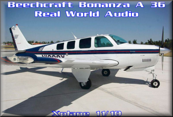 XPlane Beechcraft A-36 HQ Audio