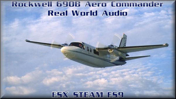 Rockwell 690-B Aero Commander HD-Audio