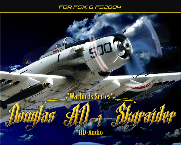 Douglas AD-1 Skyraider HD-Audio