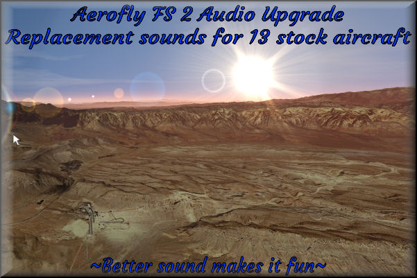 Aerofly FS2 Sound Upgrade