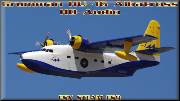 Grumman HU-16 Albatross HD-Audio