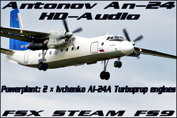 Antonov An-24 HD-Audio