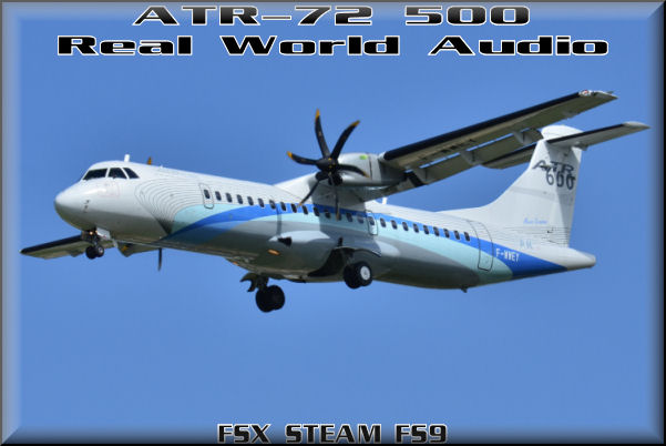 ATR-72 500 Real World Audio