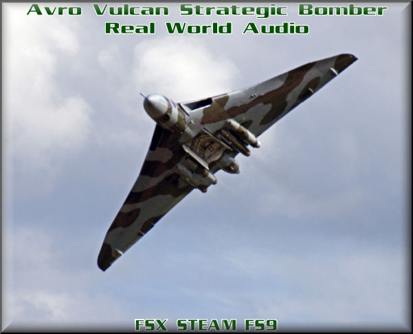 Avro Vulcan HD-Audio