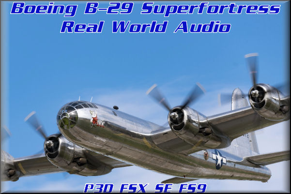 B-29 Real World Audio