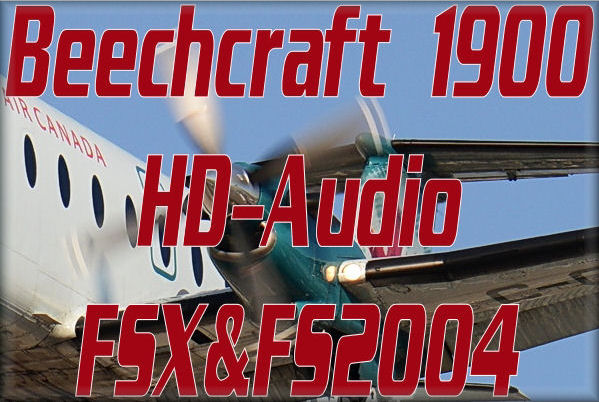 Beechcraft 1900 HD Audio