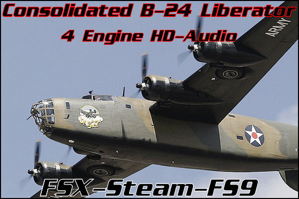 Consolidated B-24 Liberator WWII Bomber