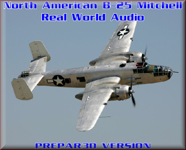 B-25 Mitchell Real World Audio