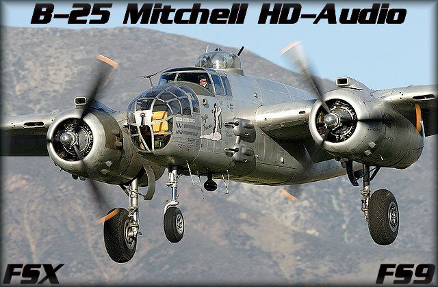 B-25 Mitchell HD-Audio