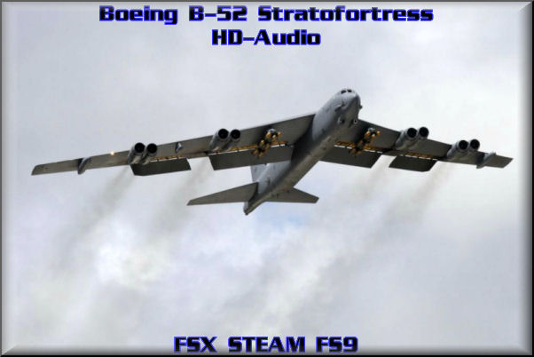 Boeing B-52 Bomber HD-Audio