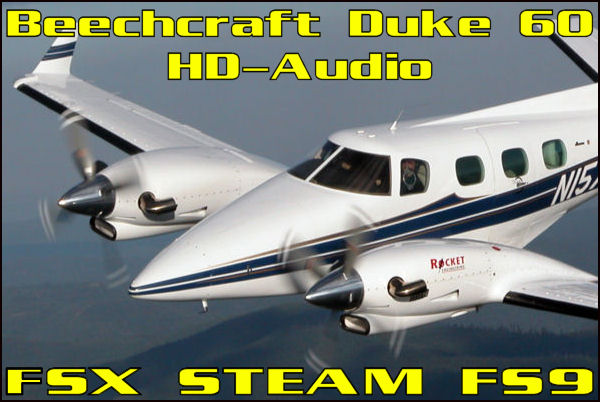 Beechcraft 60 Duke HD-Audio