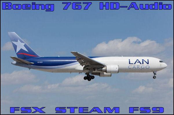 Boeing 767 HD-Audio