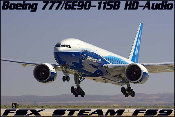 Boeing777/GE90-115B HD-Audio