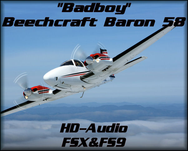 """Bad Boy\""Beechcraft Baron 58 HD"