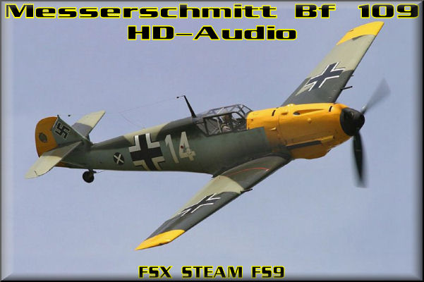 Messerschmitt Bf 109 HD-Audio