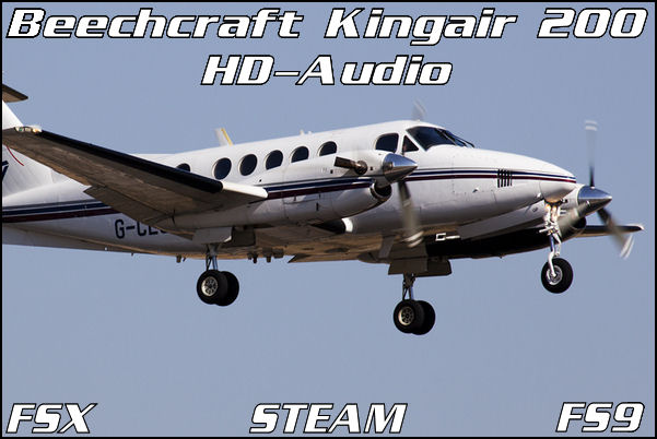 Beechcraft Kingair 200 HD-Audio