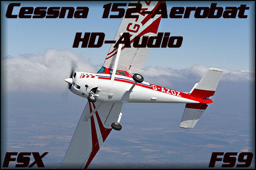 Cessna 152 Aerobat HD Sound 2X Pack