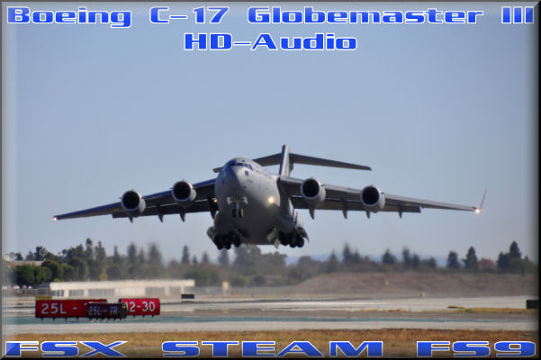 Boeing C-17 Globemaster HD-Audio