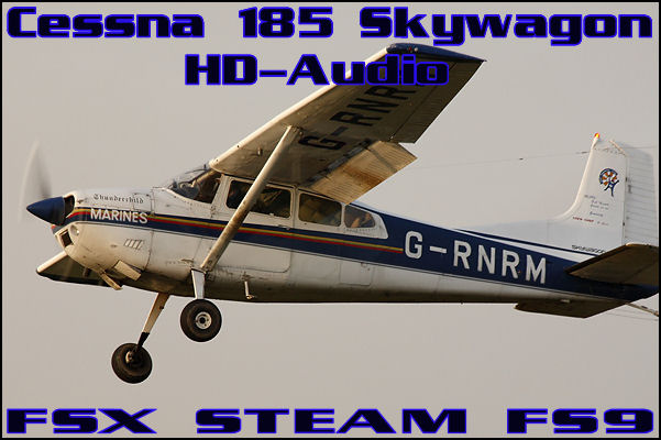 Cessna 185 Skywagon HD-Audio