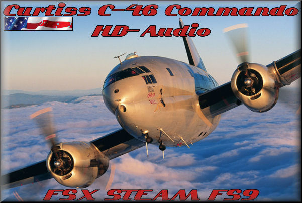 Curtiss C-46 Commando HD-Audio