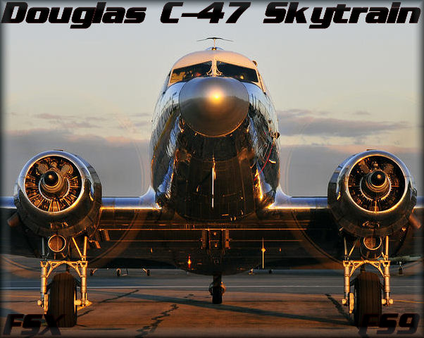 Douglas C-47 HD-Soundset
