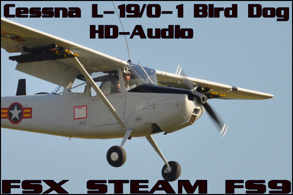 Cessna L-19/O-1 Bird-Dog HD-Audio