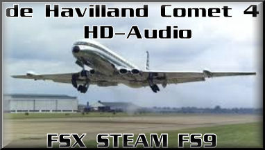 de Havilland Comet 106 HD-Audio