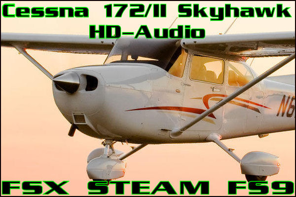Cessna 172/II Skyhawk HD-Audio