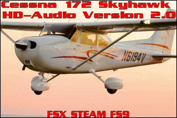 Cessna 172 Skyhawk HD-Audio Version 2.0