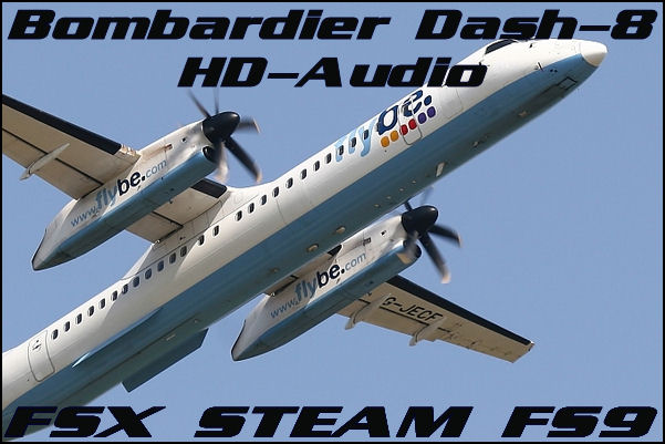 Bombardier Dash 8 HD-Audio