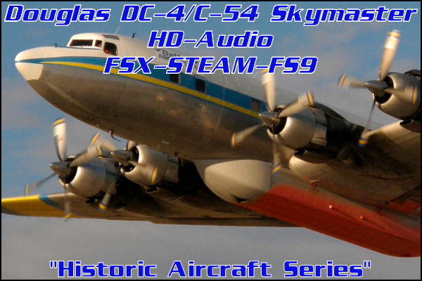 Douglas DC-4/C-54 HD-Audio