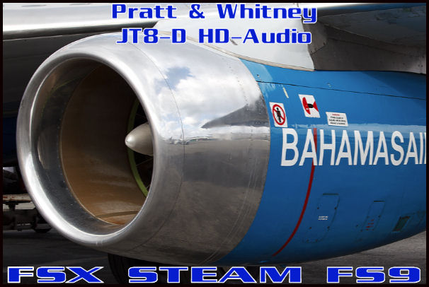 Pratt & Whitney JT8D HD-Audio
