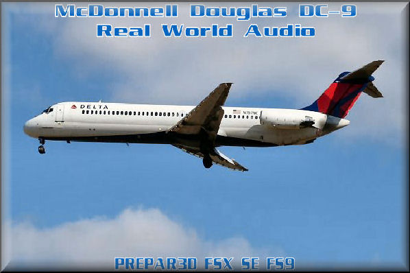 DC-9 Real World Audio