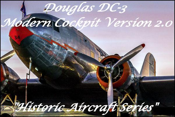 Douglas DC-3 Modern Cockpit, Skysong Soundworks