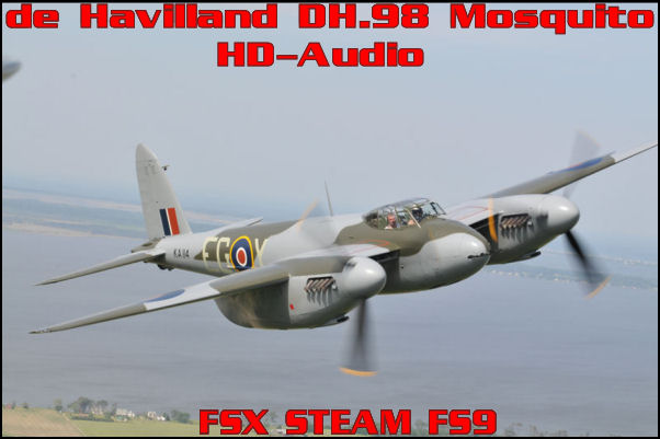 de Havilland DH.98 Mosquito HD-Audio