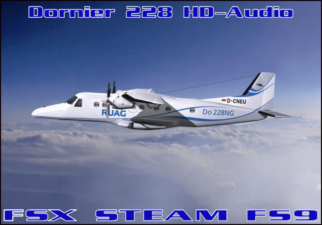 Dornier DO-228 HD-Audio