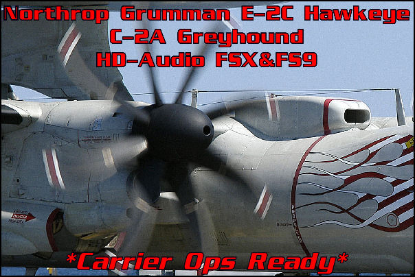 Northrop Grumman E-2C Hawkeye HD-Audio