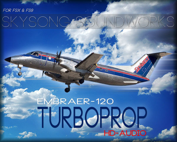 Embraer-120 Turboprop HD-Audio