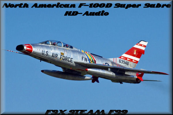 NA F-100D Super Sabre HD-Audio
