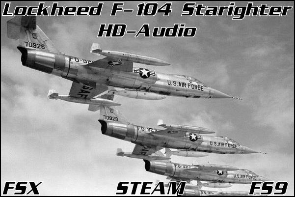 Lockheed F-104 Starfighter HD-Audio