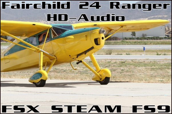 Fairchild 24 Ranger HD-Audio