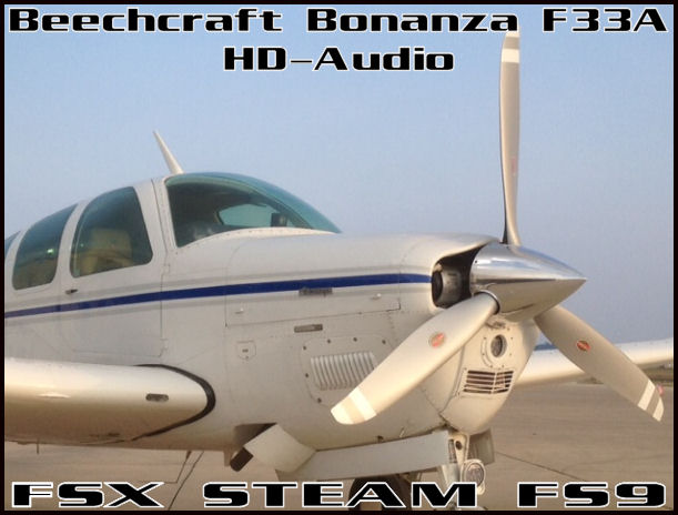 Beechcraft Bonanza F33A HD-Audio