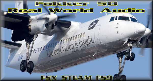 Fokker 50 Real World Audio