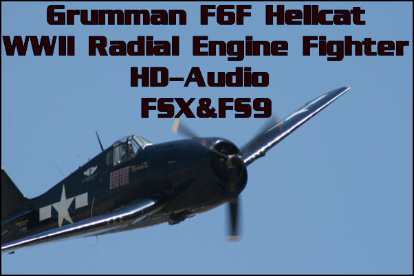 Grumman F6F Hellcat HD-Audio