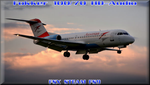 Fokker 100/70 HD-Audio