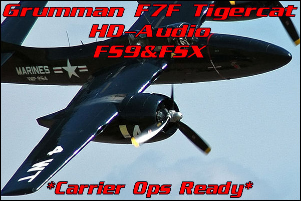 Grumman F7F Tigercat HD-Audio