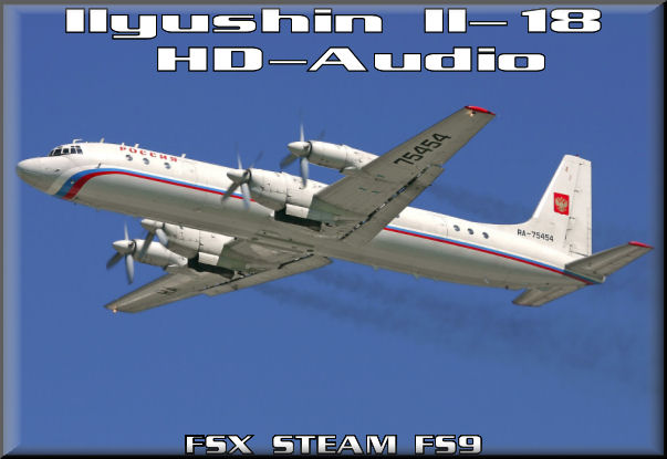 Ilyushin Il-18 HD-Audio