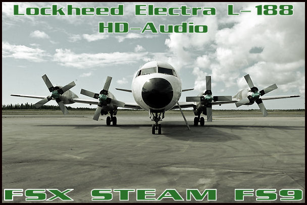 Lockheed Electra L-188 HD-Audio
